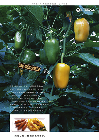 日本ハム「シャウエッセン2006」8-12